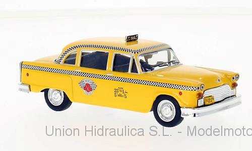 Checker Marathon Taxi de Nueva York (1963) White Box WB194 1/43