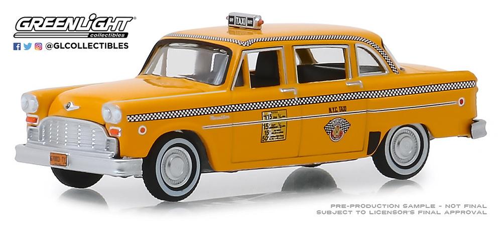Checker Motors Marathon A11 Taxi de Nueva York de 1981 Greenlight 30076 1/64