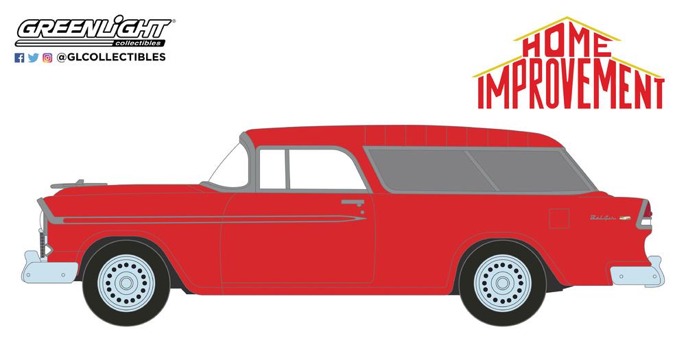 44830E Home Improvement (1991-99 TV Series) - 1955 Chevrolet Bel Air Nomad