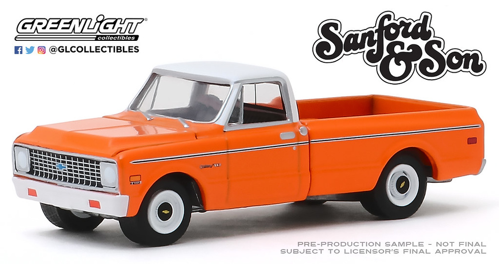 Chevrolet C-10 (1971) - Sanford and Son (1972-77 TV Series) Greenlight 44860A 1/64
