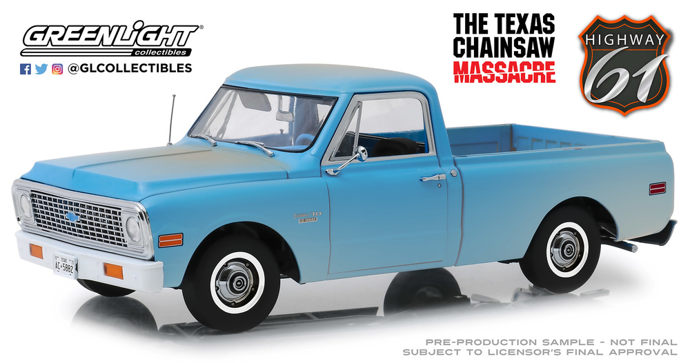 Chevrolet C-10 - La matanza de texas (1974) Greenlight 18014 1/18
