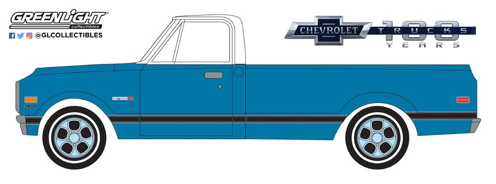 Chevrolet C10 (1982) Greenlight 27970C 1/64