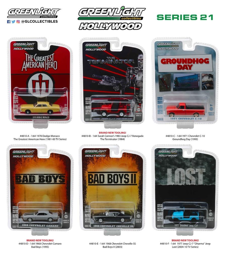 Hollywood serie 21 Greenlight 44810 1/64