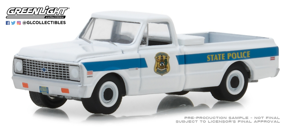 Chevrolet C10 Delaware State Police (1972) 42860A Greenlight 1/64