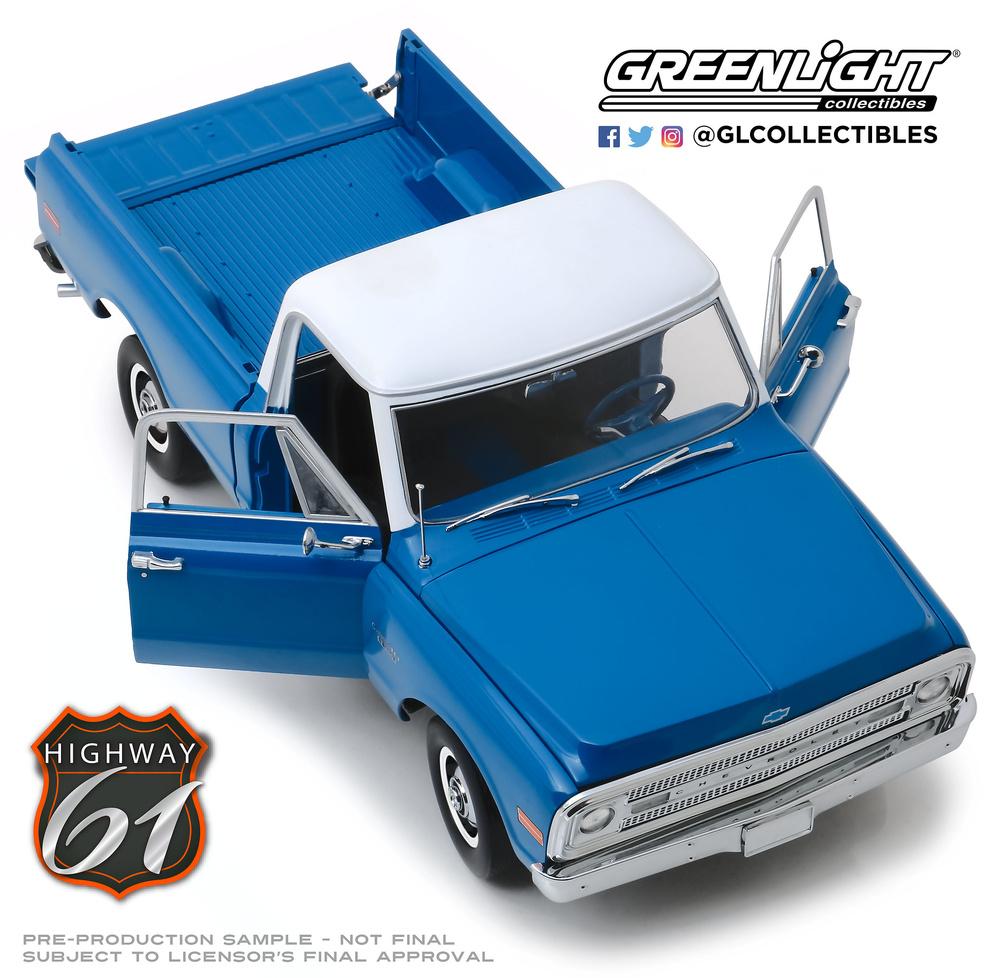 Chevrolet C10 con Kit Lift (1970) Greenlight HWY-18011 1/18