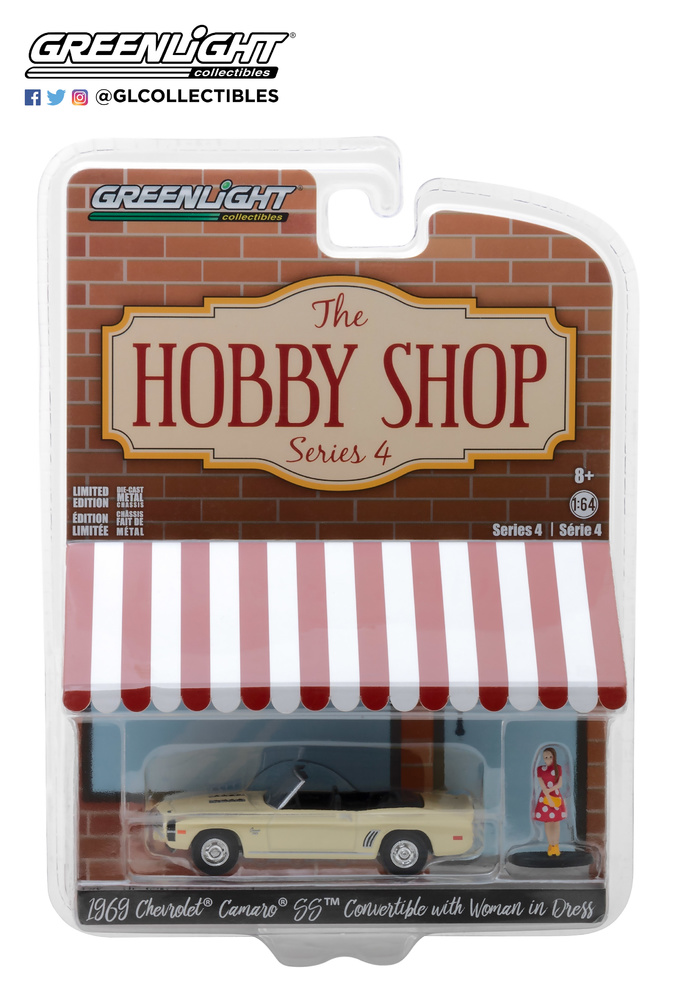 The Hobby Shop series 4 Greenlight 97040B 1/64