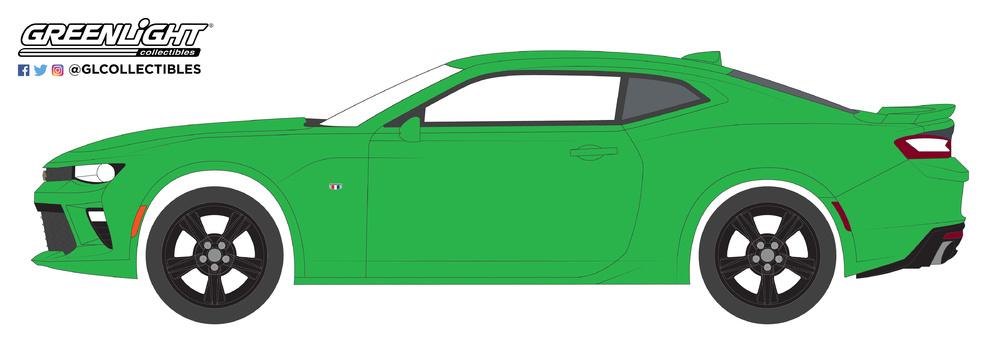 Chevrolet Camaro SS (2016) Greenlight 13230E 1/64