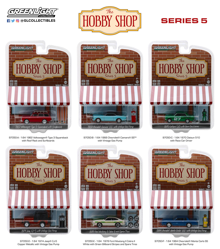 The Hobby Shop Serie 5 Greenlight 97050 1/64