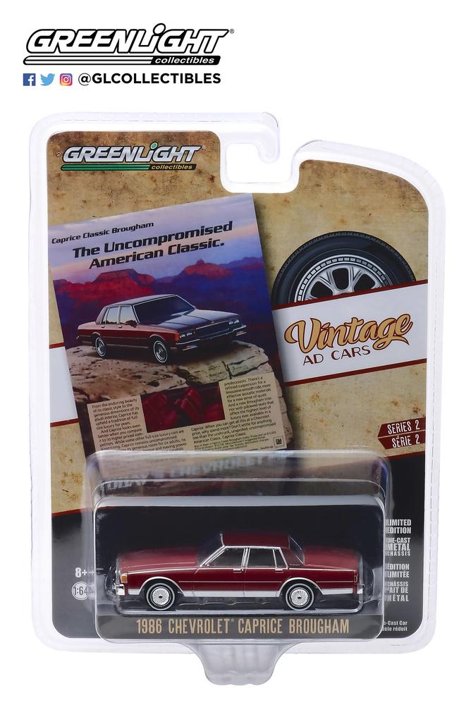 Chevrolet Caprice Brougham (1986) Greenlight 39030F 1/64