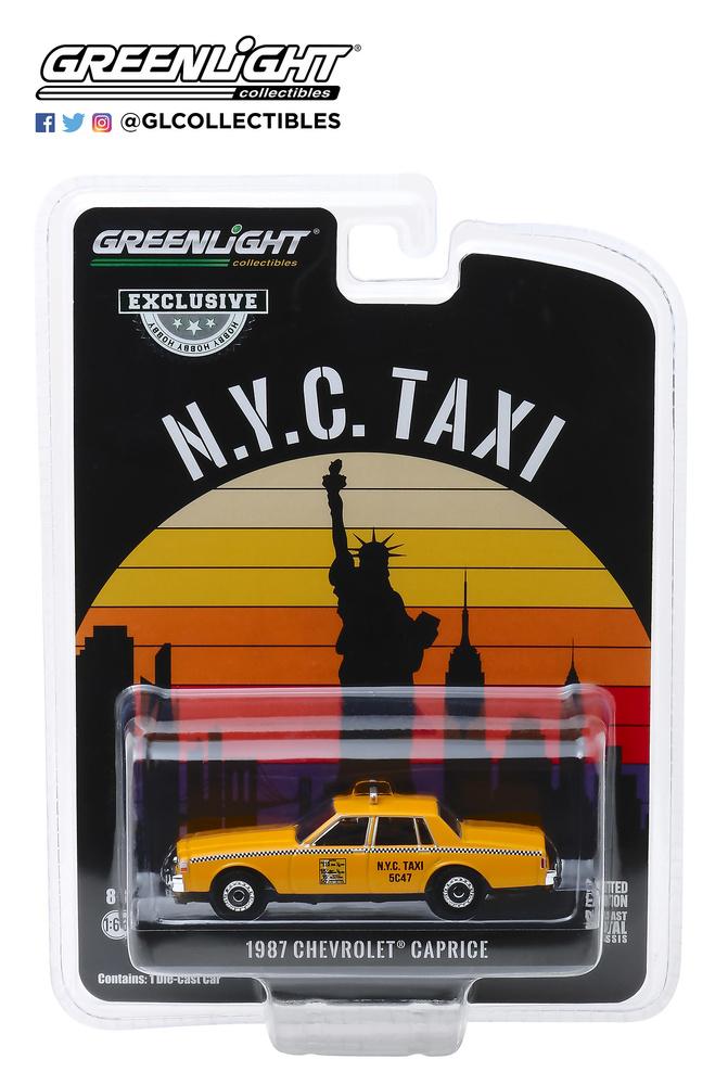 Chevrolet Caprice - Taxi Nueva York (1987) Greenlight 30077 1/64