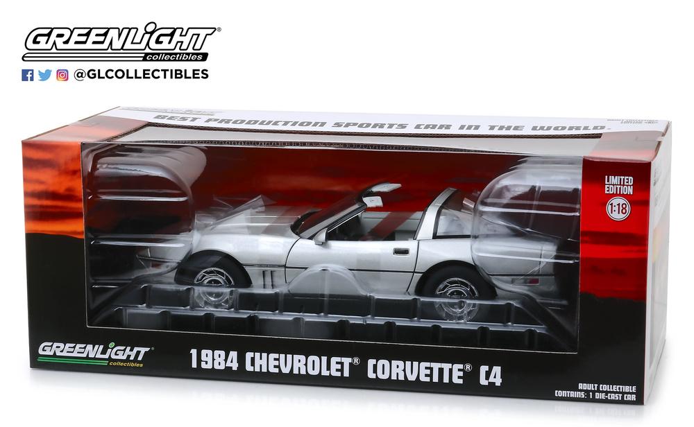 embalaje original 1988 Chevrolet Corvette red *** Johnny Lightning muscle auto World 1:64 nuevo