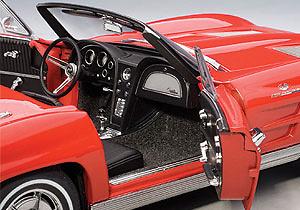 Chevrolet Corvette Convertible (1963) Autoart 71191 1:18