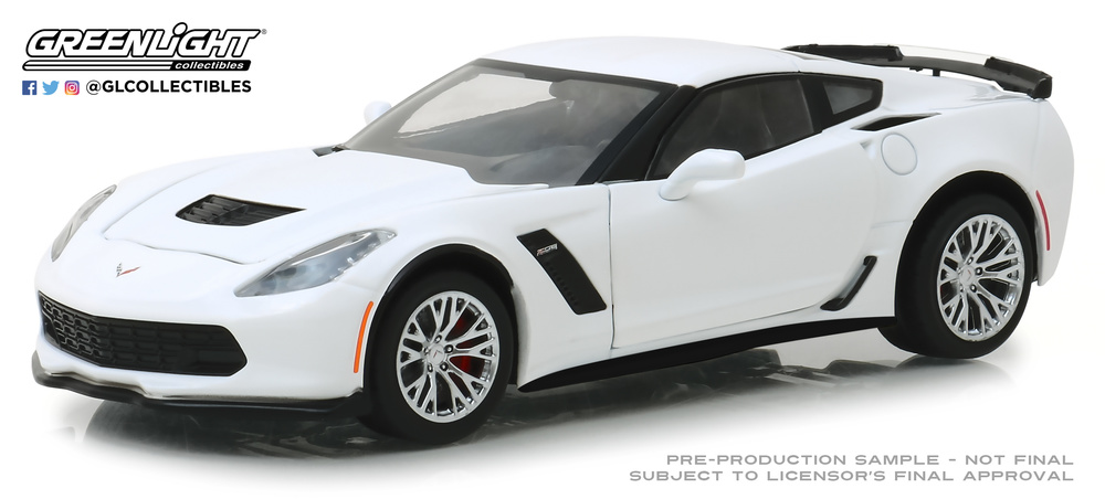 Chevrolet Corvette Z06 Coupé (2019) Greenlight 18250 1/24