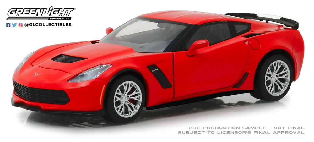 Chevrolet Corvette Z06 Coupé (2019) Greenlight 18251 1/24