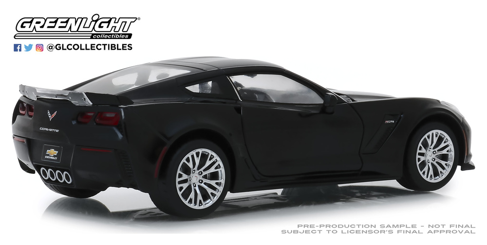 Chevrolet Corvette Z06 Coupé (2019) Greenlight 18255 1/24