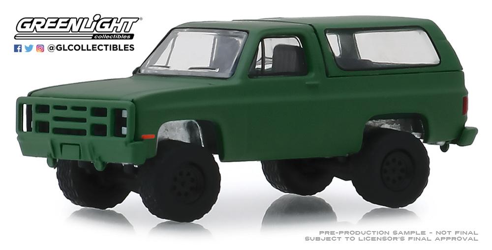Chevrolet K5 Blazer M1009 (1988) Greenlight 35140D 1/64