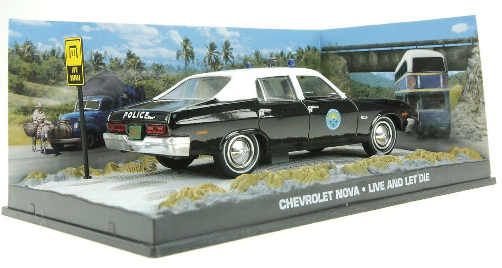 Chevrolet Nova - Policia (1965) James Bond