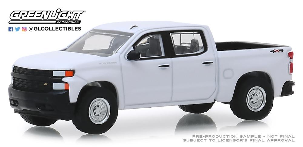Chevrolet Silverado 1500 WT (2019) Greenlight 35140F 1/64