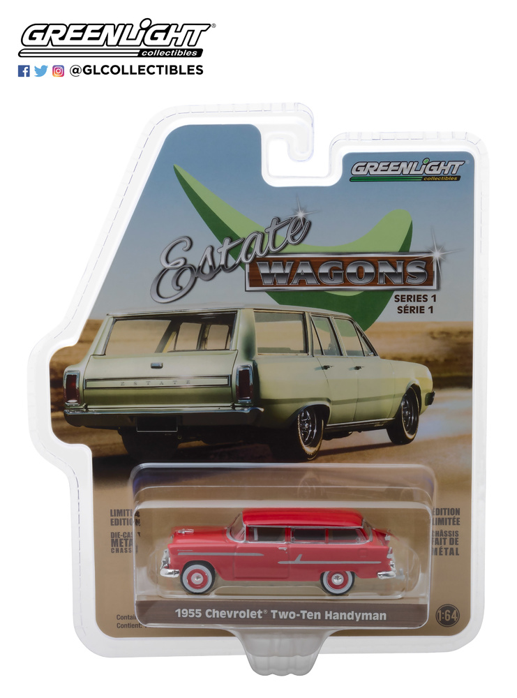 Chevrolet Two-Ten Handyman (1955) Greenlight 29910-B 1/64