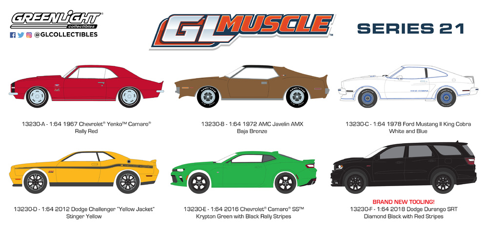 GL Muscle 21 (2019) Greenlight 13230 1/64