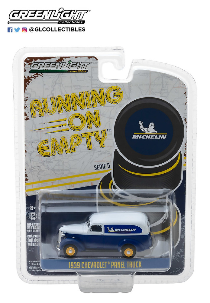 41050-B 1:64 Running on Empty Series 5 - 1939 Chevrolet Panel Truck Michelin