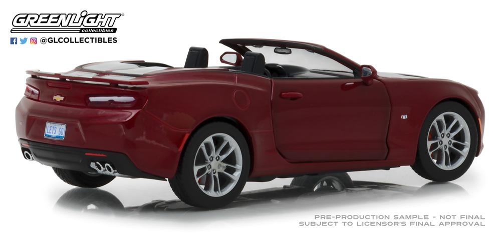 Chevy Camaro Convertible (2017) Greenlight 18245 1/24