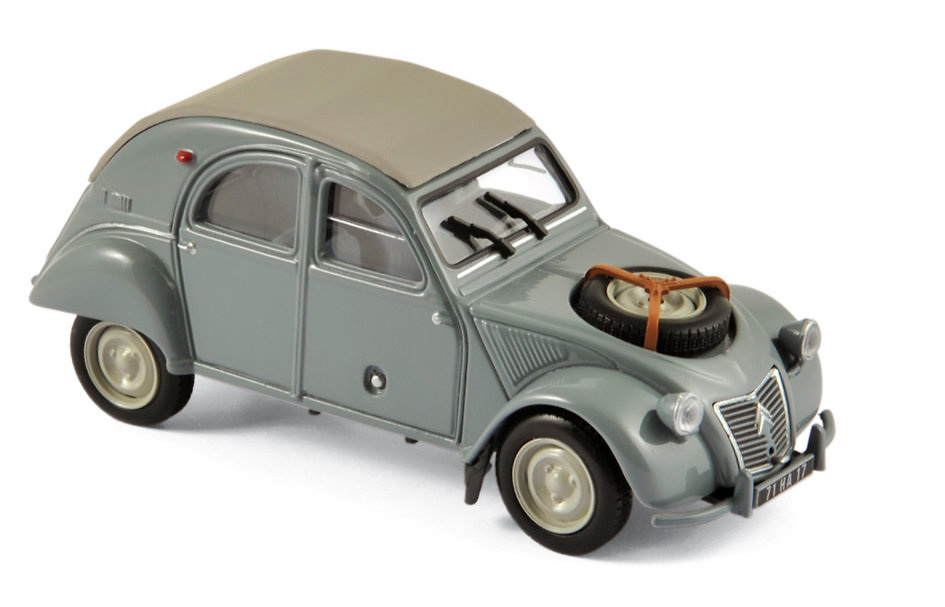 Citroen 2CV 4x4 Sahara (1961) Norev 150012 1:43