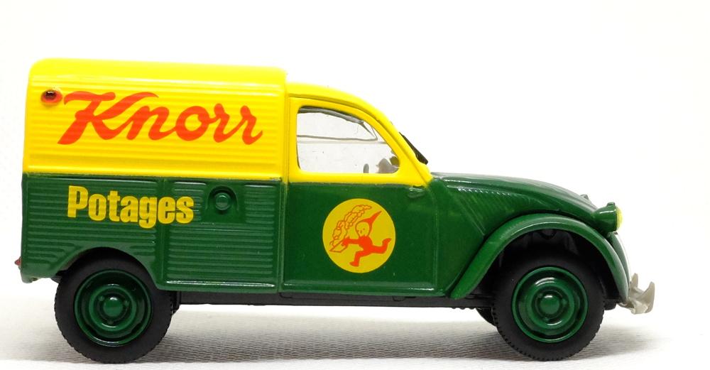 Citroen 2CV AZU Furgoneta Knorr (1956) Norev-Hachette 409554L 1/43