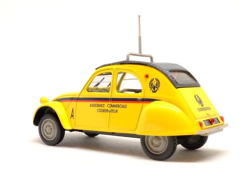 Citroen 2CV Assistance Commerciale (1957) Norev-Hachette 409535J 1/43