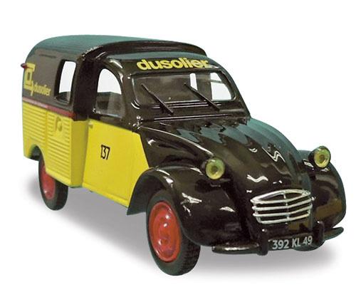 Citroen 2CV Calberson (1965) Norev 150827 1/43