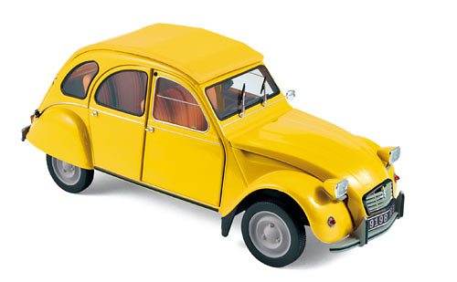 Citroen 2CV Club (1976) Norev 181496 1:18