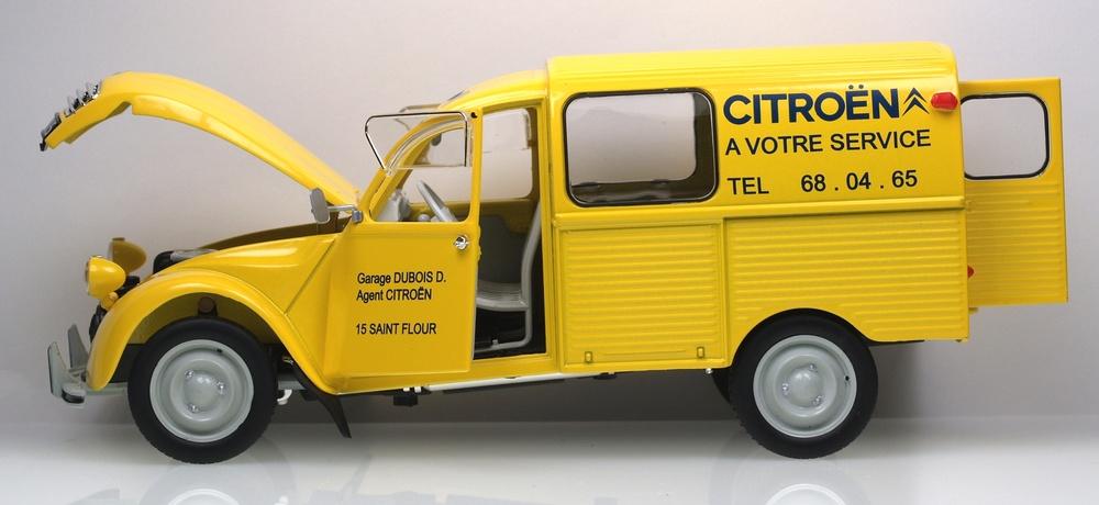 citroen 2cv furgoneta 1969 solido 15072300 1 18. Black Bedroom Furniture Sets. Home Design Ideas