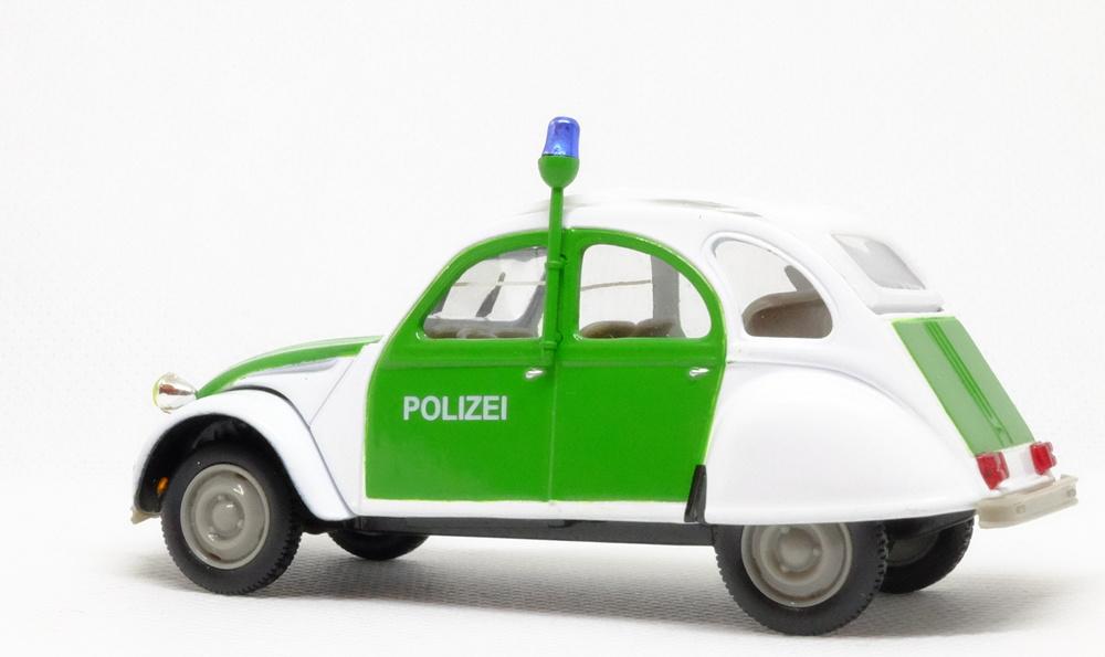 Citroen 2CV Polizei (1986) Norev-Hachette 409547A 1/43