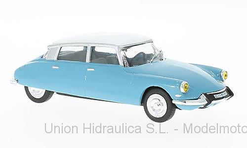 Citroen DS 19 (1966) White Box WB229 1/43