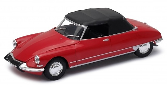 Citroen DS19 Cabriolet con Capota (1961) Welly 22506H 1:24