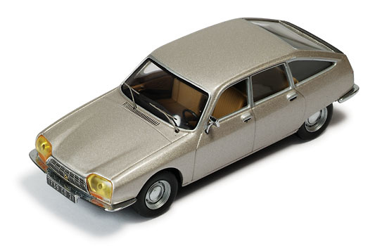 Citroen GS (1971) Gris metalizado Ixo 1/43