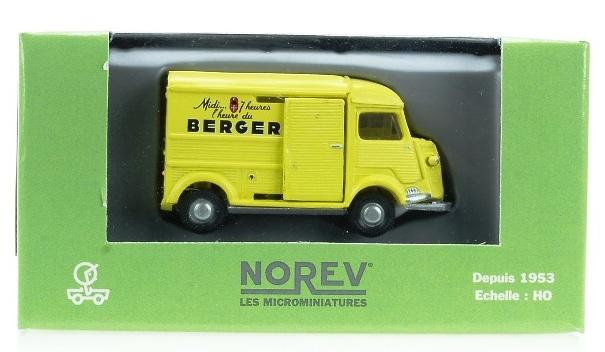 Citroen HY Furgón Berger Norev 154515 1/87