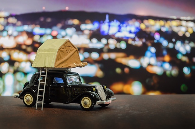 Citroen Traction Camping Car