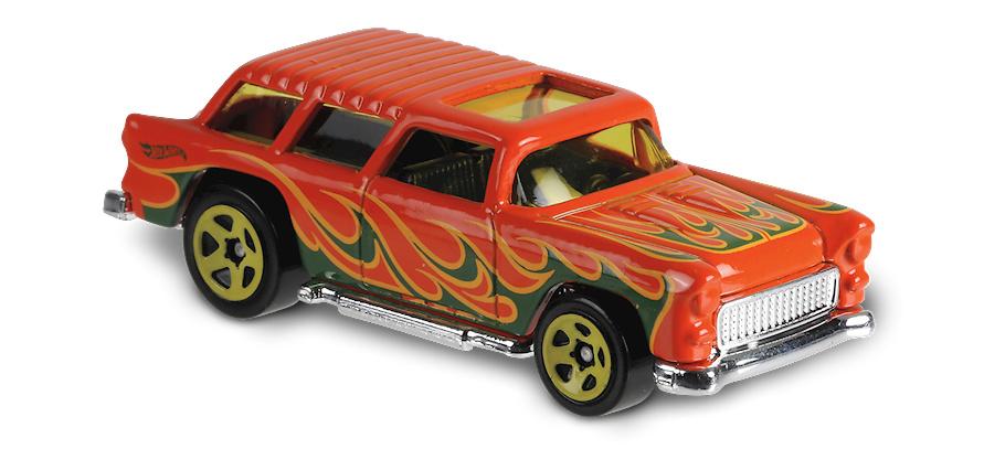Classic Nomad -Flames- (1955) Hot Wheels FJY61 1/64