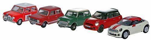 Conjunto de 5 Minis (1960-2010) Oxford 76SET21 1/76
