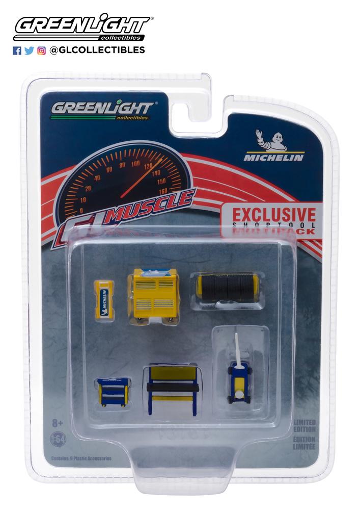 Conjunto herramientas de taller Michelin Greenlight 13161 1/64
