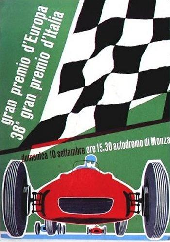 Poster del GP. F1 Italia 1967