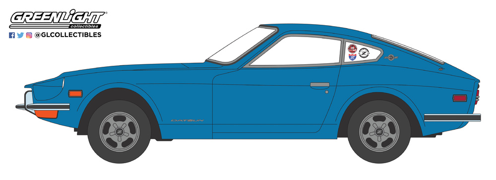 Datsun 240Z (1970) Greenlight 37140B 1/64