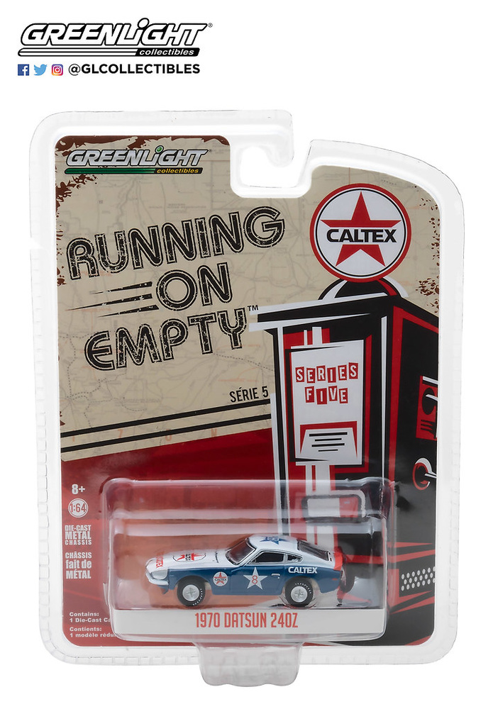 41050-E 1:64 Running on Empty Series 5 - 1970 Datsun 240Z Caltex