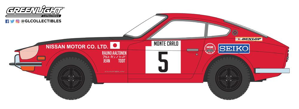Datsun 240Z nº 5 Rally Montecarlo