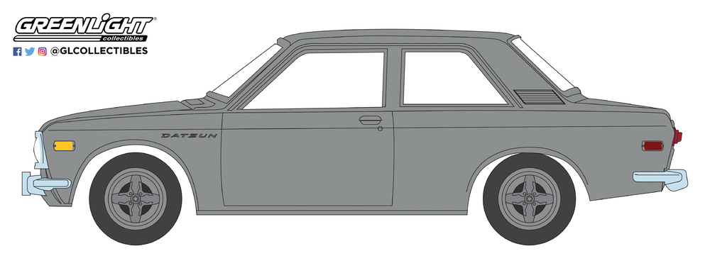 Datsun 510 (1970) Greenlight 29900B 1/64