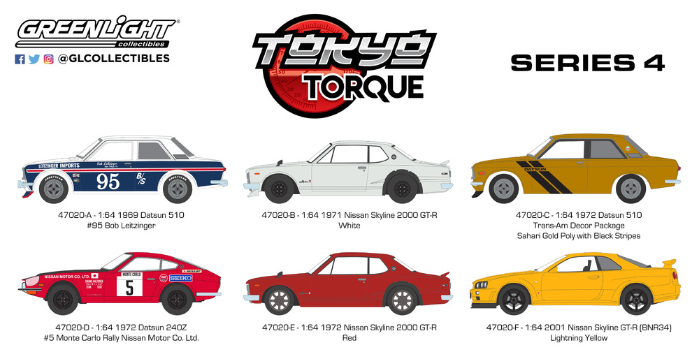 Tokio Torque serie 4 (2018) Greenlight 1/64