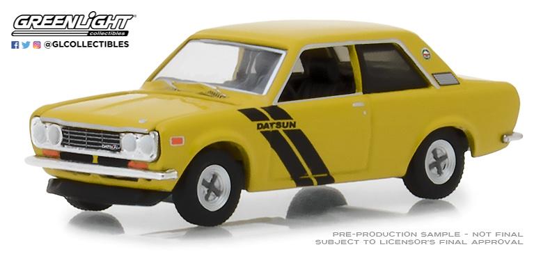 Datsun 510 Trans-am Decor Package (1972) Greenlight 47020C 1/64