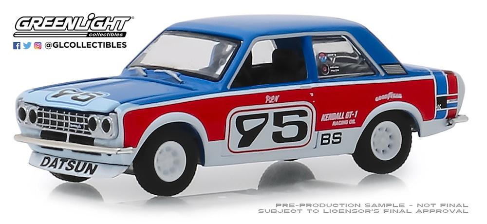 Datsun 510 nº 95 Paul Newman (1973) Tokyo Torque Greenlight 47040D 1/64