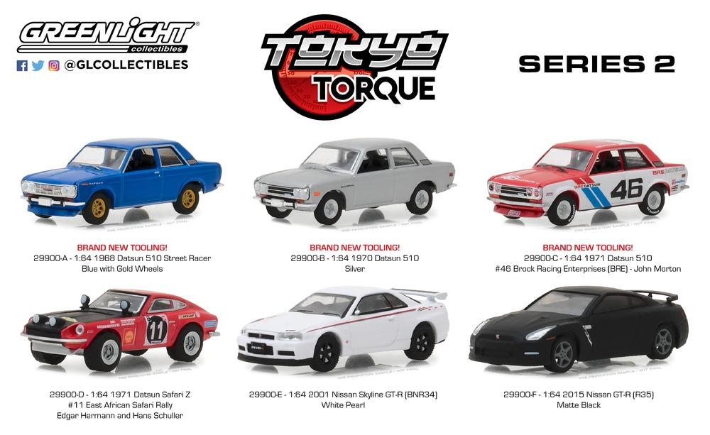 Tokyo Torque Series 2 Greenlight 29900 1/64